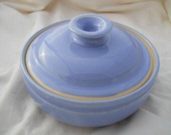 Light Blue  Small Casserole Dish