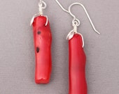 Coral and Sterling Silver...