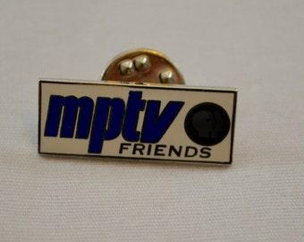 Vintage MPTV FRIENDS enamel pin badge lapel pin pinback tie tack milwaukee