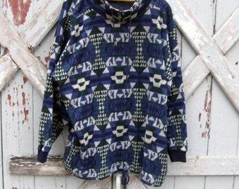 Vintage 1980s 1990s Venezia oversized sweater L XL