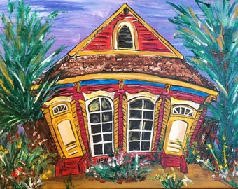 New Orleans Fairy Tale Cottage - Free Shipping or Delivery
