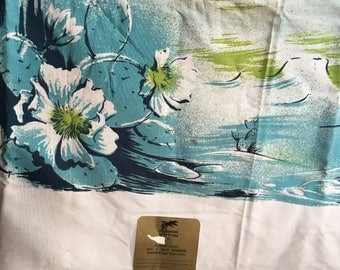 Fantastic NWT California Hand Prints Painted Desert Large Tablecloth