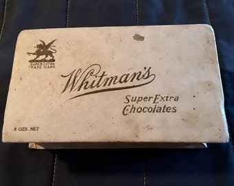Vintage Whitman's Super Extra Chocolate Box