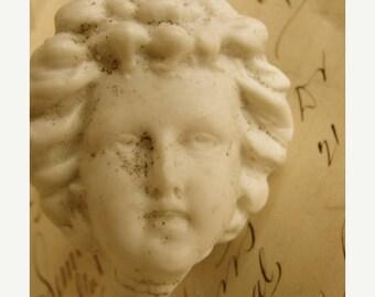 ONSALE Antique Large German Doll Head Broken Promises