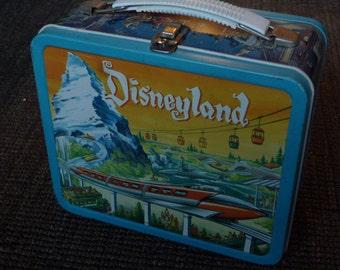 1960 Disneyland Monorail Submarine Metal Lunchbox