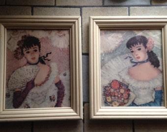 Two Framed Ballerina Prints
