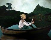 In Flight Original Painting by Maxwell P. Nolin