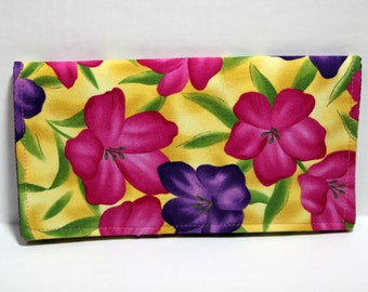 Coupon organizer wallet- Flowers