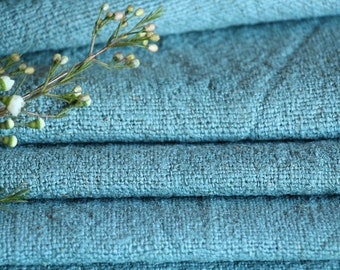 R 577 antique handloomed,lin MINT GREEN 5.90 yards ;by 17.72inches , french lin,tablerunner, 리넨