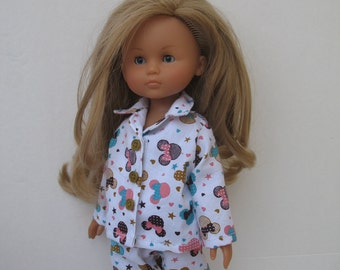 Clothes for Corolle Les Cheries,Paola Reina Doll Pajamas