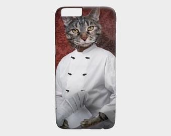 iphone 6 case iPhone 6S Case Chef Cat Cellphone Case Gear Pet Portrait - Chef Lola