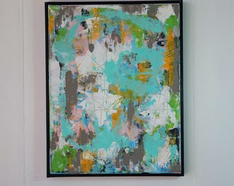 Abstract Painting Original Framed