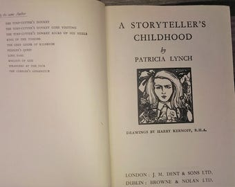 A Storyteller's Childhood 1947 first edition