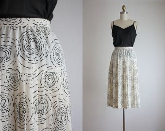 topography midi skirt