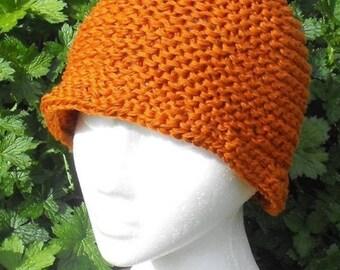 50% OFF SALE Instant Digital File pdf download knitting pattern MADMONKEYKNITS Superfast Cloche Beanie Hat pdf download knitting patern