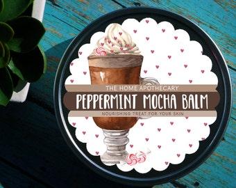 Love from THA // Peppermint Mocha Body Balm