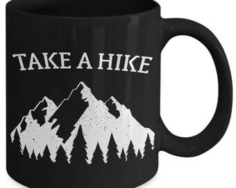 Take A Hike Funny Trekking Trail Coffee Mug