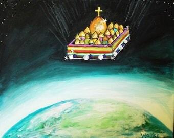 The New Jerusalem 8 x 10 print