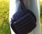 2 Navy Blue Nautical Rope Tie backs, for Rina with 30 inches.