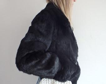 Leather Bag Vintage Woven Purse White