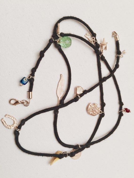 Twelfth Charm Wrap Bracelet