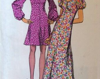 Vintage Simplicity 9446 Misses' Dress - Junior Size 9 or 11