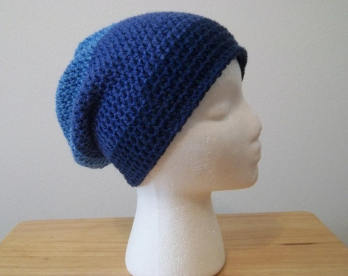 Slouchy Crochet Hat for Men or Boys or even Unisex