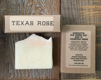 Texas Rose Handcrafted Old Fashioned Lye Soap 4.5oz Bar