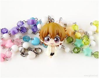 FREE Nagisa Pastel Necklace, Rosary Necklace, Fairy Kei Necklace, Decora, Pastel Rainbow, Kawaii Jewelry, OOAK