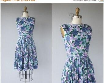 25% OFF FLASH SALE.. 1960s Dress | 60s Dress | 1960s Floral Dress | 60s Printed Jersey Dress | Lavender Floral Dress 60s | Floral Print Dres