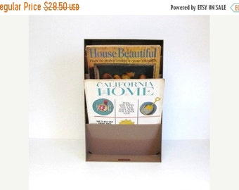 On Sale Vintage Industrial Office File Organizer