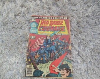 marvel comics / comic books / red badge of courage / #10 / classic comics / good condition  / some wear / see pics / savannahwillow