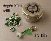 ringOs Mini REFILL - Snowdrops Limited Edition - Snag-Free Ring Stitch Markers for Sock Knitting