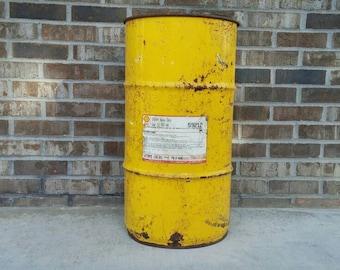 Vintage Shell Spirax Heavy Duty Gear Oil Drum