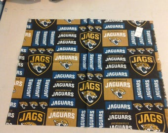 Jacksonville Jaguars Fabric 247459