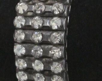 Vintage Crystal Rhinestone Expansion Bracelet