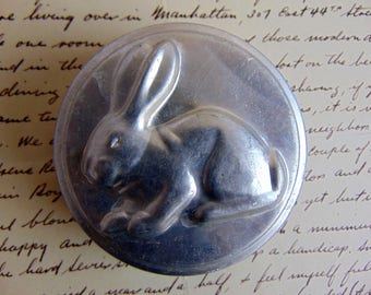 Vintage Rabbit Bunny Mini Cake Pan Muffin Tin