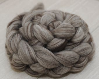 50/50 Rambouillet Yak Signature Blend Combed Top - 4 oz