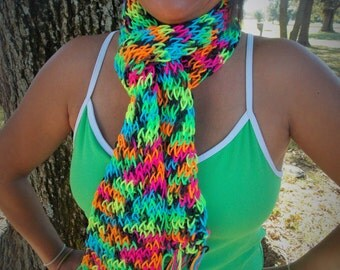 Colorful Whimsical Scarf