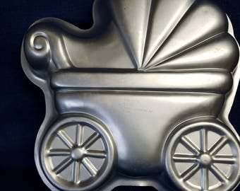 Wilton Baby Stroller, Baby Carriage, Pram Pan or Mold
