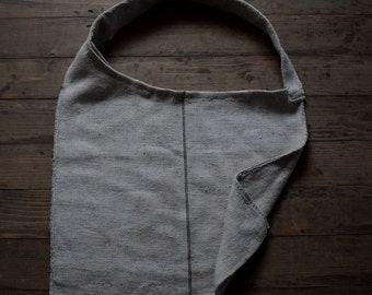 Handwoven oversize market bag - ecological sustainable and ethically made