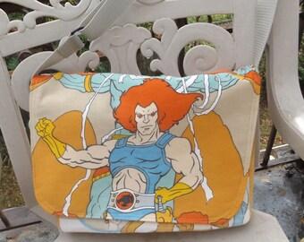 Thundercats Messenger Bag  / Hip Bag  OOAK   Lion O