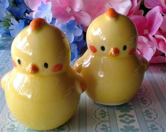 Baby Chicks Salt and Pepper Shakers