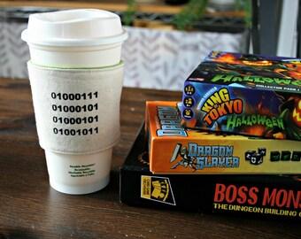 Geek cup cozy