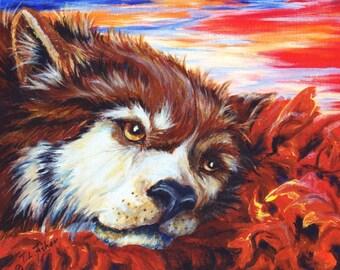 Autumn Wolf 2