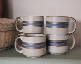 Otagiri Horizon 5 Coffee Cups - Japan Stoneware