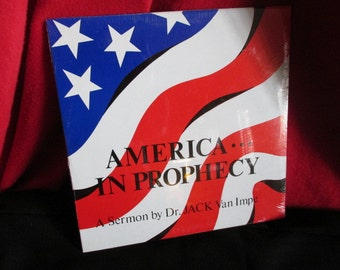 "Dr. Jack van Impe ""American In Prophecy"" Vinyl LP"