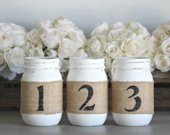 Rustic Table Numbers,Barn Wedding Table Centerpieces,Engagement Party Table  Decor,Engagement Party