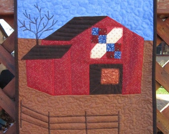 Barn Quilt Wallhanging