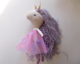 Purple Ballerina Unicorn
